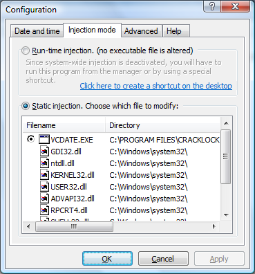 Cracklock documentation